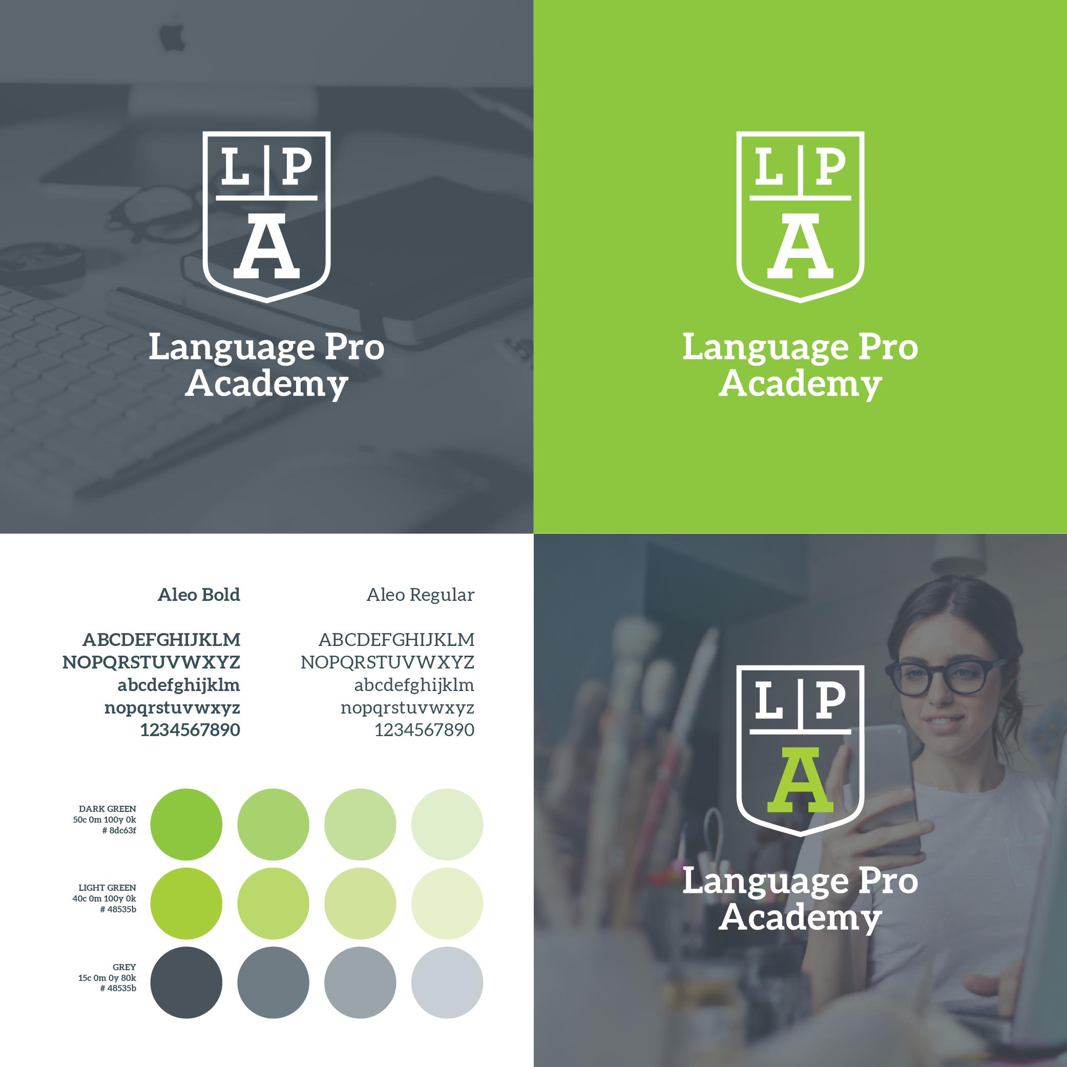 Language Pro Logo Design
