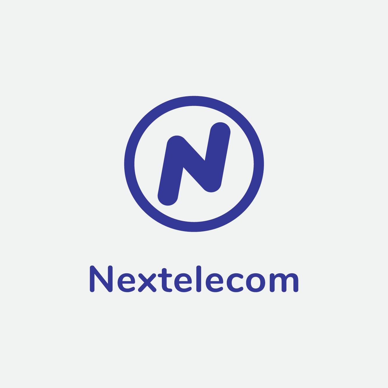Nextelecom Logo Design